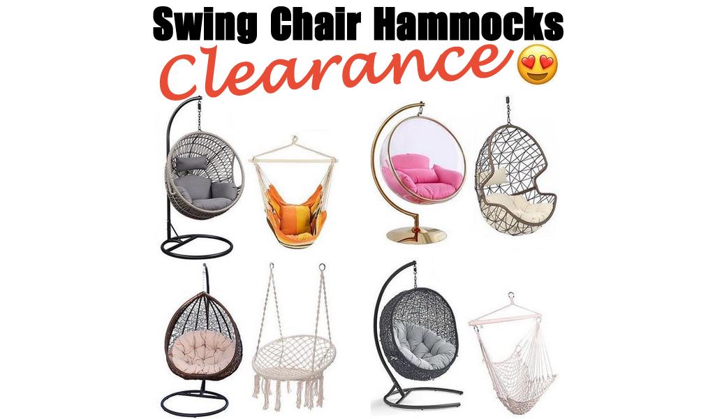 Swing Chair Hammocks for Less on Wayfair - Big Sale