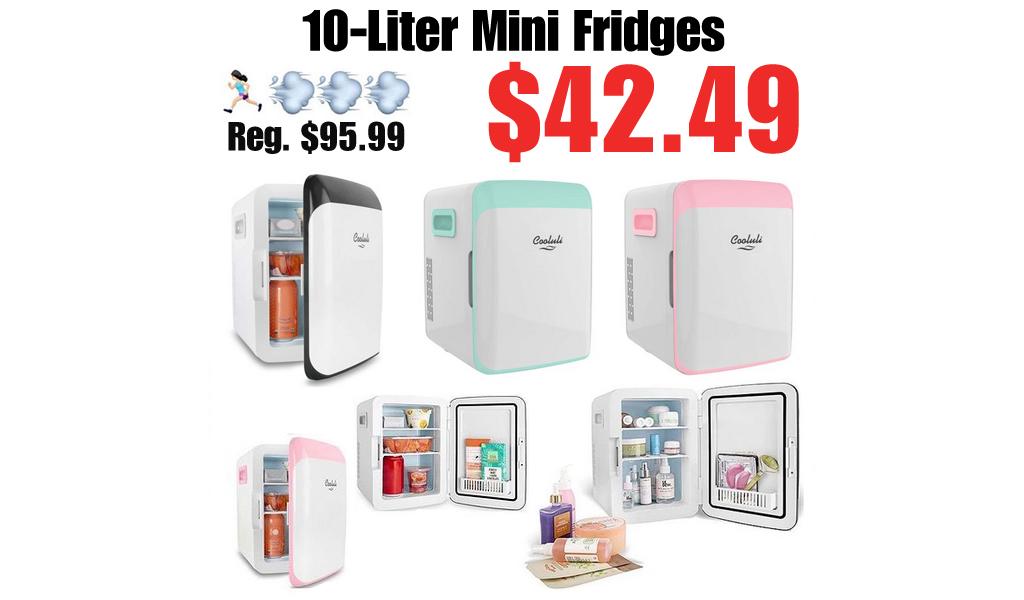 10-Liter Mini Fridges Only $42.49 on Zulily (Regularly $95.99)