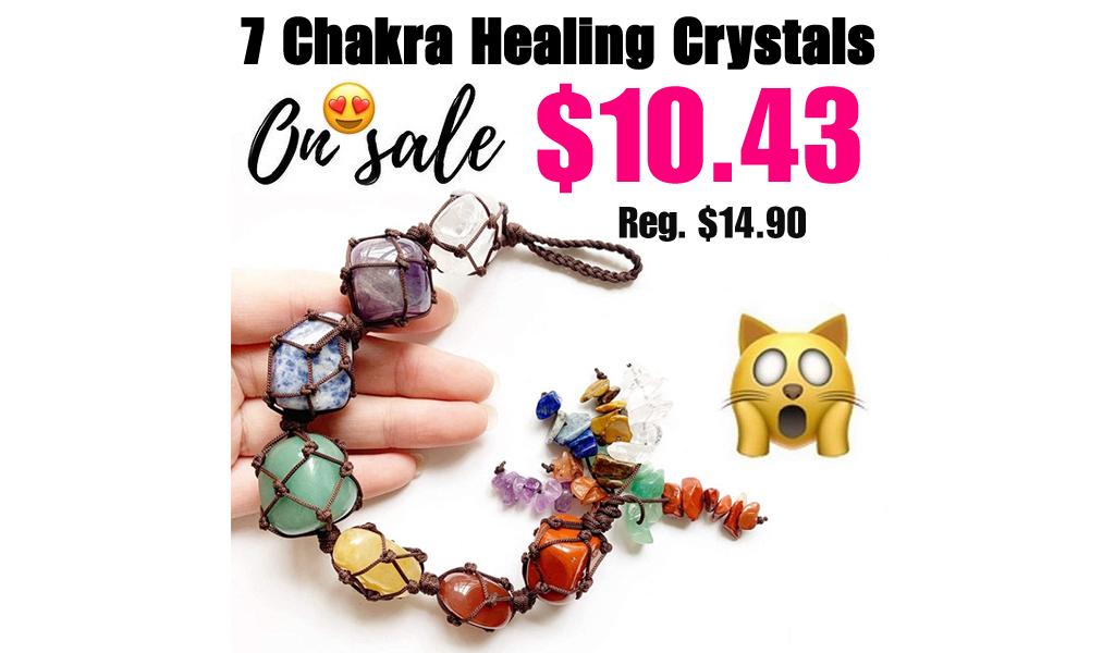 7 Chakra Healing Crystals Only $10.43 Shipped on Amazon (Regularly $14.90)