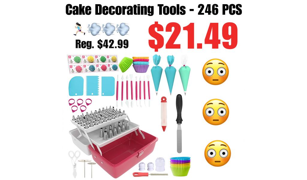 Cake Decorating Tools - 246 PCS Only $21.49 Shipped on Amazon (Regularly $42.99)