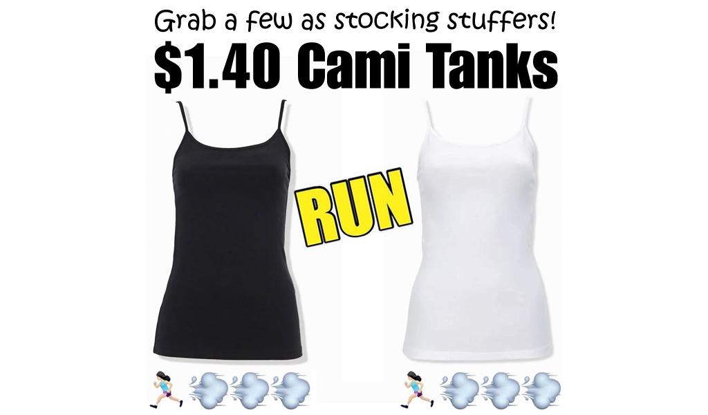 Cami Tanks Only $1.40 on Forever21.com (Regularly $2.99)
