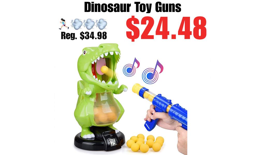 Dinosaur Toy Guns Only $24.48 Shipped on Amazon (Regularly $34.98)