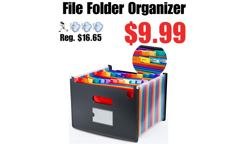 File Folder Organizer Only $9.99 Shipped on Amazon (Regularly $16.65)