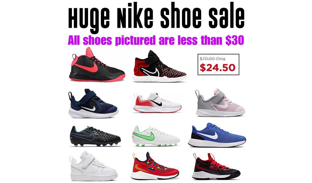 Huge Nike Shoe Sale