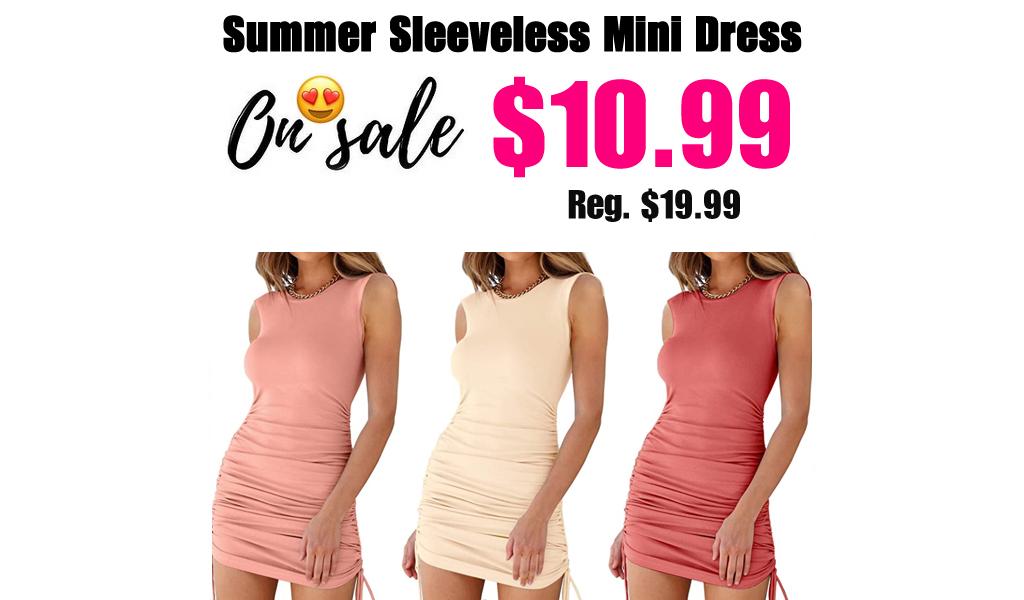 Summer Sleeveless Mini Dress Just $10.99 Shipped on Amazon (Regularly $19.99)