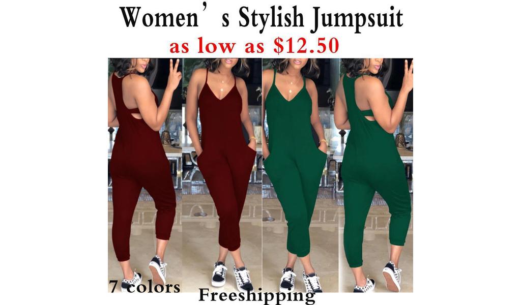 Women Lovely Jumpsuit