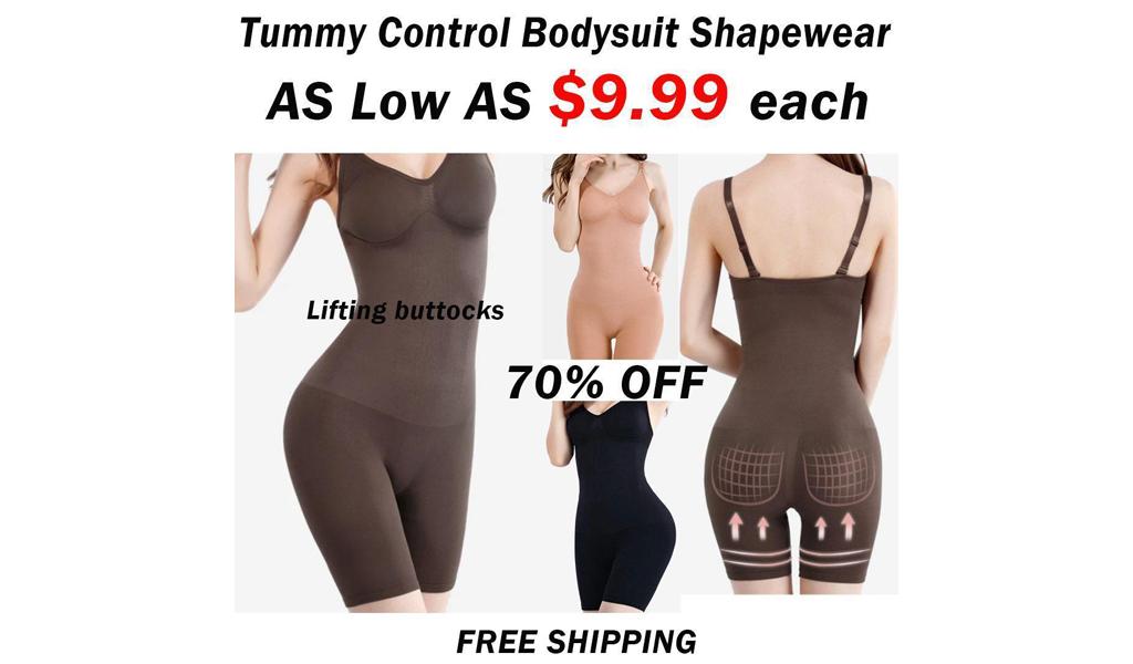 Women Tummy Control Bodysuit Shapewear