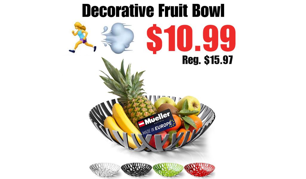 Decorative Fruit Bowl Only $10.99 Shipped on Amazon (Regularly $15.97)