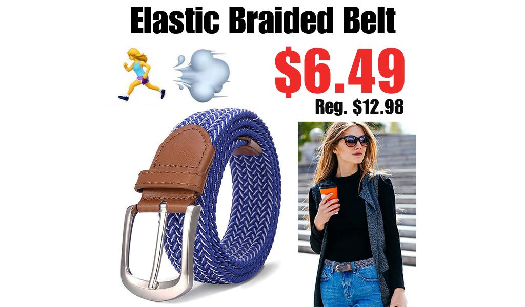 Elastic Braided Belt Only $6.49 Shipped on Amazon (Regularly $12.98)
