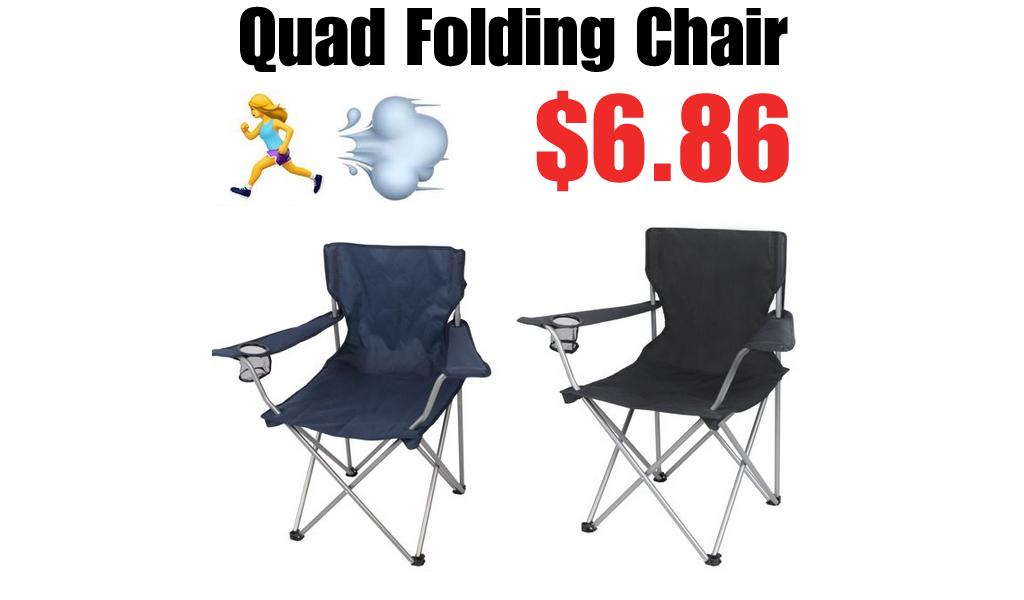 Quad Folding Chair Just $6.86 on Walmart.com