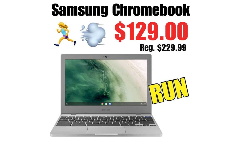 "Samsung CB4 11.6"" Celeron 4GB/32GB Chromebook Only $129.00 Shipped on Walmart.com (Regularly $229.99)"