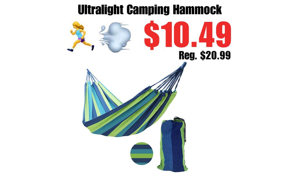 Ultralight Camping Hammock Only $10.49 Shipped on Amazon (Regularly $20.99)