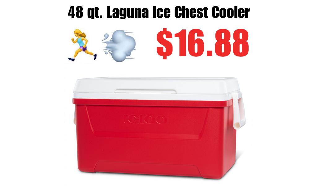 48 qt. Laguna Ice Chest Cooler Just $16.88 on Walmart.com