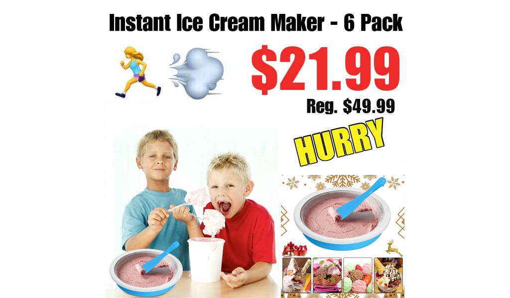 Instant Ice Cream Maker - 6 Pack Only $21.99 on Wayfair (Regularly $49.99)