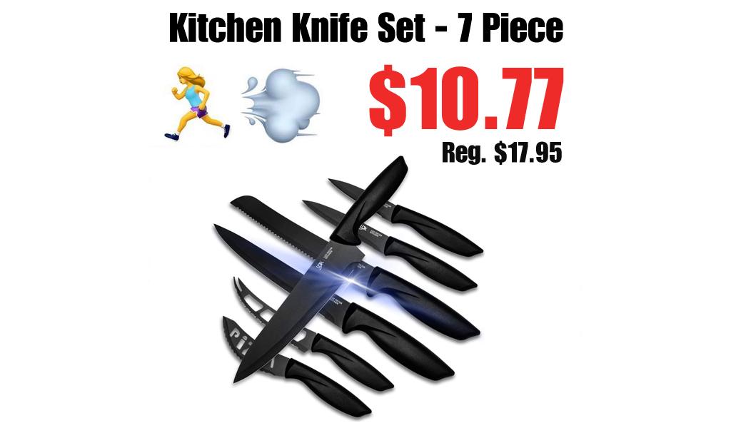 Kitchen Knife Set - 7 Piece Only $10.77 Shipped on Amazon (Regularly $17.95)