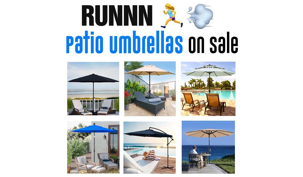 Patio Umbrellas for Less on Wayfair - Big Sale