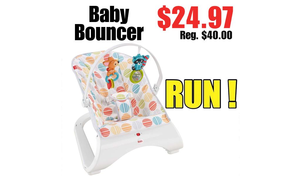 Baby Bouncer Just $24.97 on Walmart.com (Regularly $40.00)