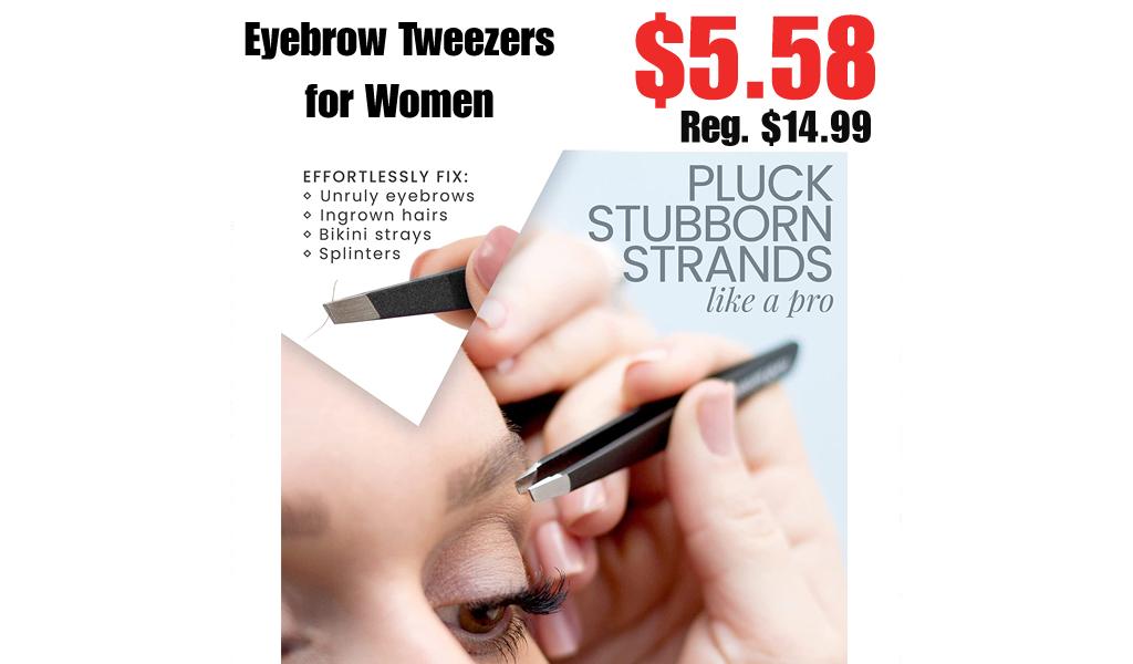 Eyebrow Tweezers for Women Only $5.58 Shipped on Amazon (Regularly $14.99)