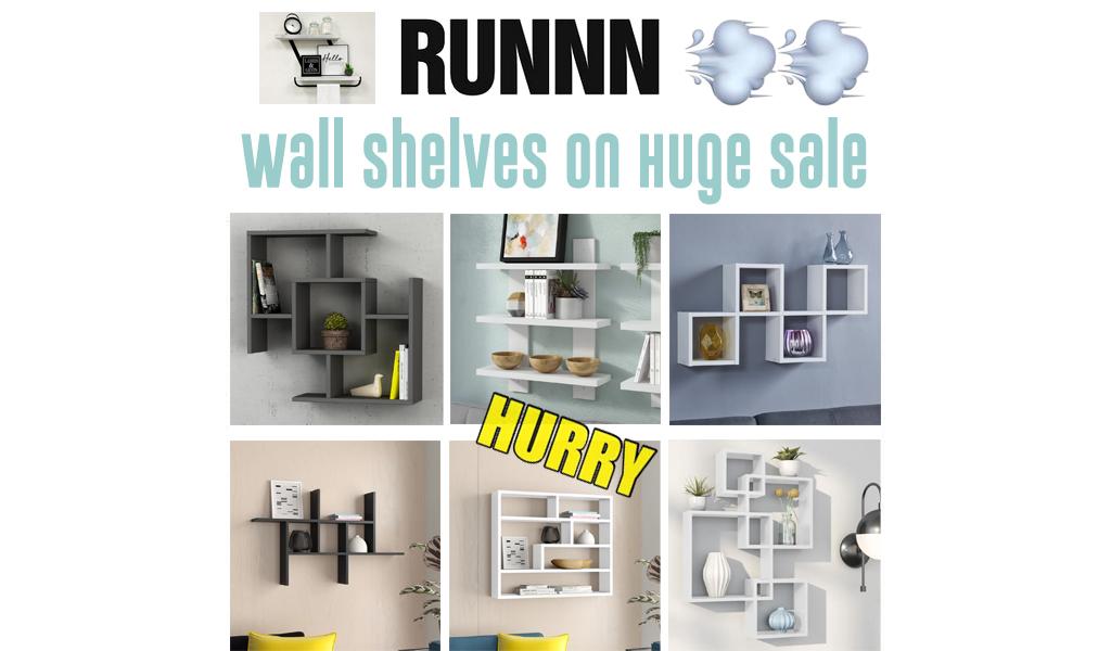 Wall Shelves for Less on Wayfair - Big Sale
