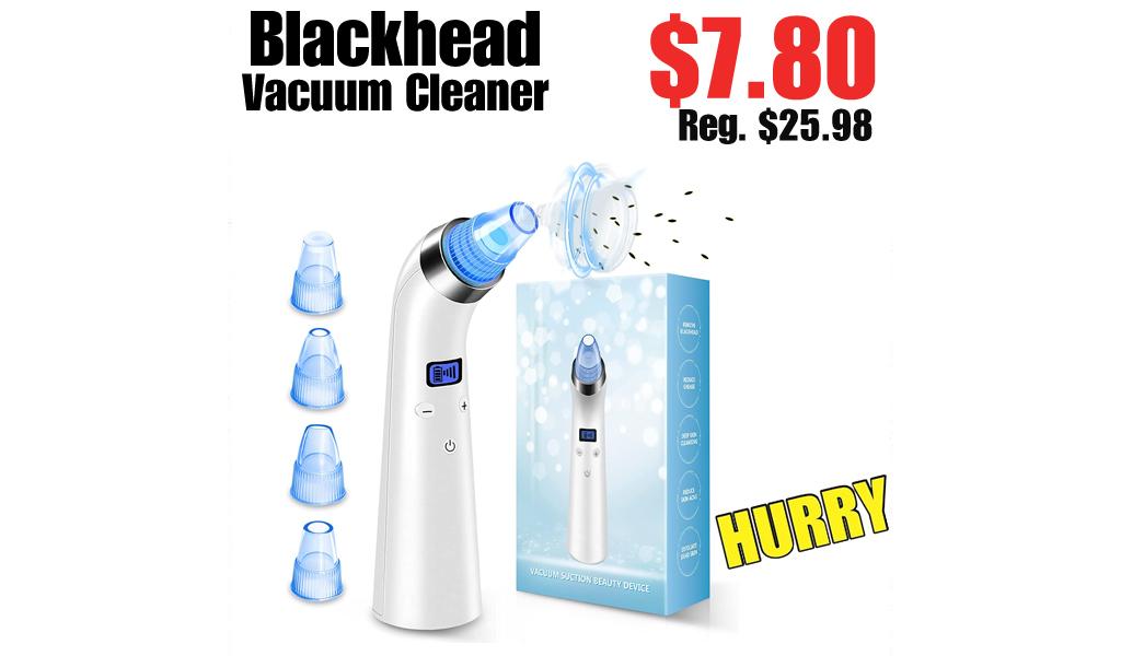 Blackhead Vacuum Cleaner Only $7.80 on Amazon (Regularly $25.98)