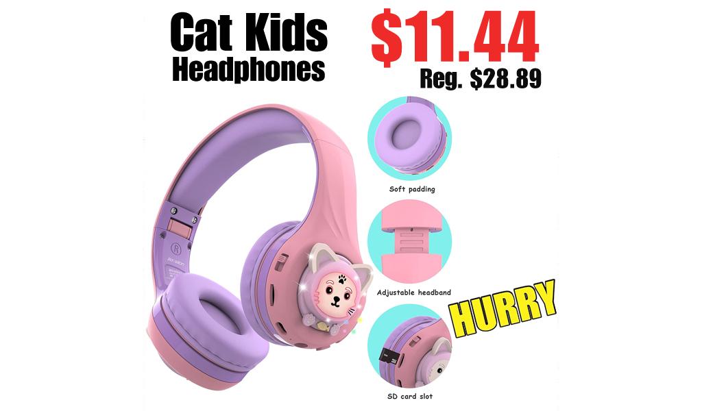 Cat Kids Headphones Only $11.44 on Amazon (Regularly $28.89)