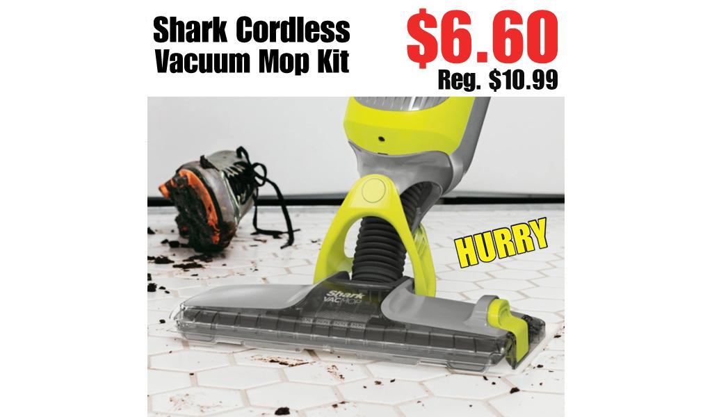 Shark Cordless Vacuum Mop Kit Only $59 Shipped on Walmart.com (Regularly $99)
